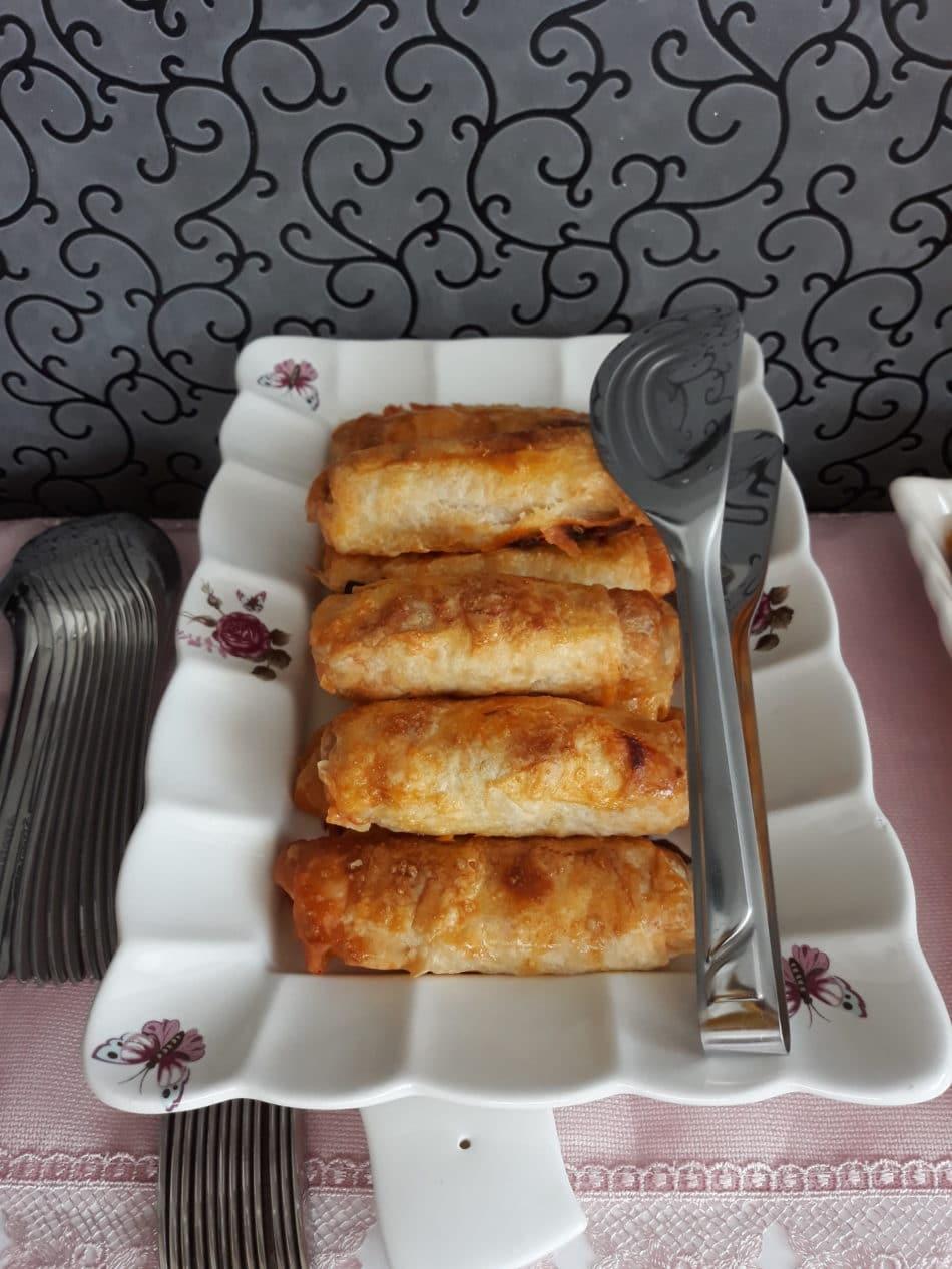 Patlıcanlı Sigara Böreği Tarifi