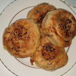 Patlıcanlı Gül Böreği