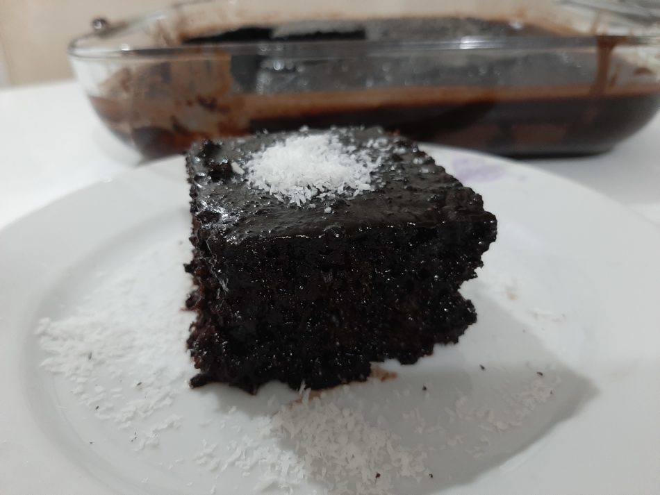 kahveli ıslak kek