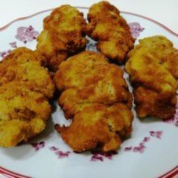 Mayonez Soslu Tavuk Kızartması