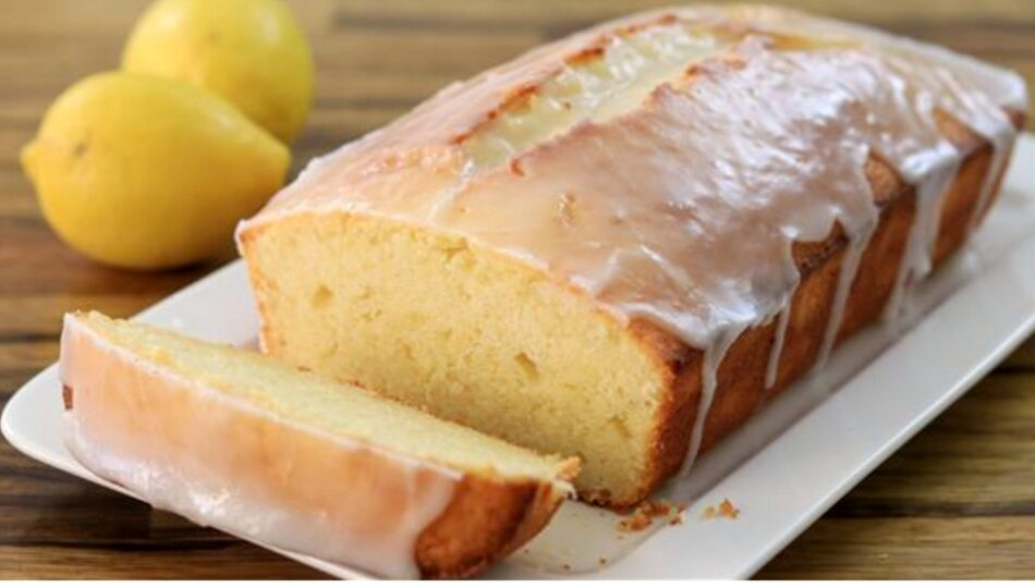 Soslu Limonlu kek