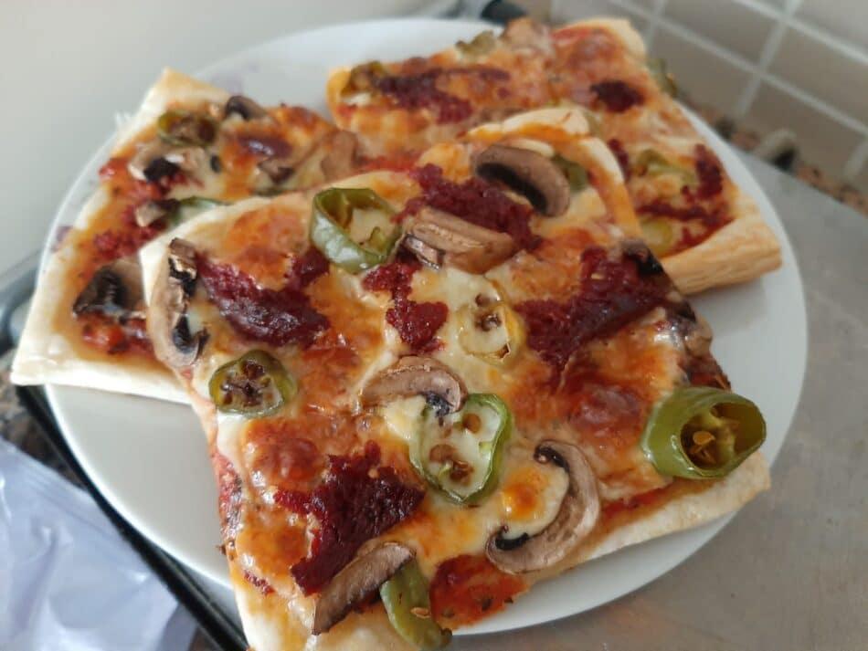 çıtır milföy pizza